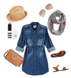 """""""Denim"""" by laurika-oosthuizen on Polyvore featuring maurices, YMI, H&M, Steve Madden, Topshop, Under One Sky and Oasis"""