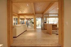 Visite immersive AVU3D - Industries Bonneville - maison neuve à vendre INDUSTRIES BONNEVILLE Cabin Plans, Minimalism, New Homes, Houses, How To Plan, Interior Design, Room, Inspiration, Furniture