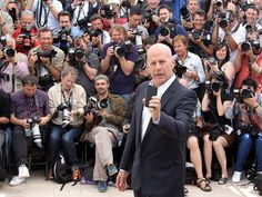 Bruce Willis - Cannes