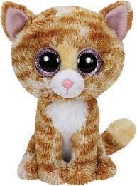 Ty Beanie Boos - Tabitha the Cat - Plush Toys Ty Stuffed Animals, Plush Animals, Large Beanie Boos, Ty Beanie Boos Collection, Ty Peluche, Ty Toys, Kitten Toys, Beanie Babies, Kitty