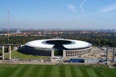 Berlin - Olympiastadion and Glockenturm (Olympic Stadium and Bell Tower)