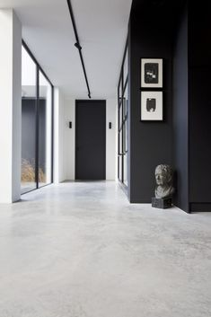 Office Interior Design, Interior And Exterior, Barn Conversion Interiors, Beauty Room Decor, Entrance Design, Cottage Homes, Little Houses, Concrete Floors, Interior Architecture