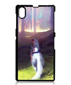 Buy Sony Xperia Z1 Case, Retro Princess Mononoke Collection [Perfect Fit] Clear View Back Cover for Sony Xperia Z1 NEW for 12.31 USD | Reusell
