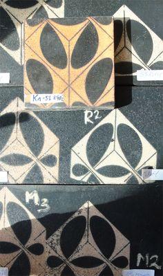 samples and testing in our workshop. Tile Design, Tiles, Workshop, Blanket, Crafts, Room Tiles, Atelier, Manualidades, Tile