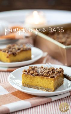 Pumpkin Pie Bars - Delicious Fall Dessert Recipe #pumpkinpie #pumpkin #fall #fallbaking #dessert #recipe Fall Dessert Recipes, Pie Dessert, Fall Desserts, Fall Recipes, Baked Pumpkin, Pumpkin Recipes, Pumpkin Pie Bars, Fall Baking, Baking Recipes