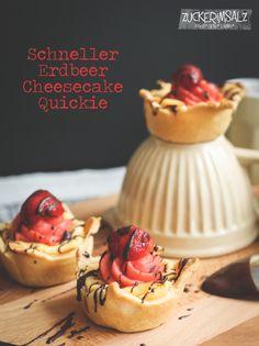 Erdbeer - Strawberry - Cheesecake Quicki Cake