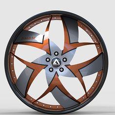 Amani Talenzo Curved Wheels