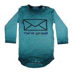 Knotsknetter - Claesens romper You've got Mail - Jongenskleding