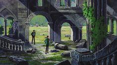 「lupin the third castle of cagliostro」の画像検索結果 Hayao Miyazaki, Lupin The Third, Studio Ghibli Movies, Gothic Anime, Animation Background, Visual Development, Environment Design, Anime Films, Environmental Art