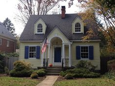 1000 Images About House Colors For Houses With Dormer