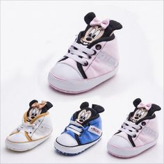 4e14d43d76e8 Minnie and Mickey First Walkers Shoes. Baby Boy ShoesToddler ...