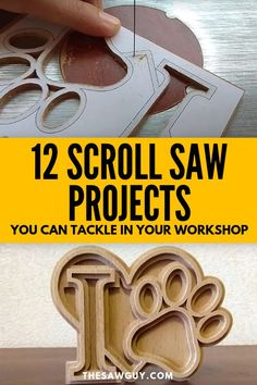 Mastering the scroll saw takes patience, practice, and time, but once you see our list of 12 scroll saw projects you can tackle in your workshop, you'll be excited to learn. Woodworking Projects That Sell, Woodworking Books, Woodworking Ideas, Woodworking Furniture, Sauder Woodworking, Woodworking Chisels, Woodworking Garage, Woodworking Equipment, Learn Woodworking