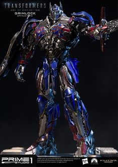 Transformers Grimlock Optimus Prime Version Statue by Prime #Affiliate #Optimus, #ad, #Grimlock, #Transformers, #Statue Arte Alien, Arte Robot, Transformers Optimus Prime, Grimlock Transformers, Michael Bay, Popular Kids Toys, Prime Time, Sideshow Collectibles, Reference Images