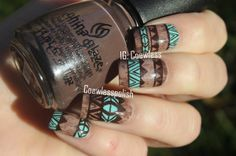 NOTW – Wooden tribal (Inspired by Ipad Cover and Chelsea Queen)