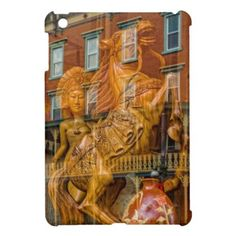 Wild Horse and Goddess Carving iPad Mini Cover - photography gifts diy custom unique special