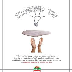 If you love making pizza at home, this tip is for you. #RCP3 #ThursdayFoodTip