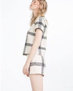 Image 5 of CHECK TOP from Zara