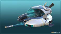 Subnautica Seamoth submarine