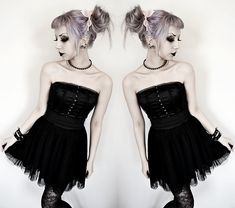 The look. And the hair! <3 Fill me with your poison (by Rosa Pekkanen)
