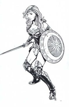 Wonder Woman By  Joëlle Jones Comic Art