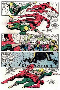 Daredevil v Iron Fist, Miller and Jansen