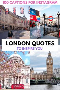 This ultimate list of quotes about London will inspire your next trip to London or provide the perfect London Instagram caption. Take a virtual trip to London with these London quotes and daydream about the Big Smoke! London quotes | London quotes inspirational | London quotes travel | London quotes instagram | funny London quotes | London quotes British | London quotes funny | Quotes about London | London quotes travel words | London quotes inspiration