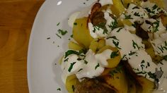 Stuffed potatoes - Hungarian dish