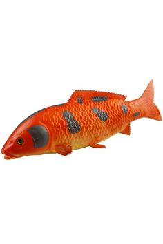 Artificial Fancy Carp Lifelike and Realtouch PU Fish for Fish Tank or the Aquarium Restaurant Hotel Display *** For more information, visit image link.
