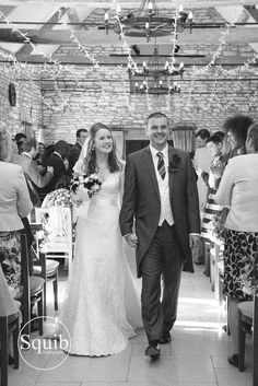 A gorgeous couple and a gorgeous wedding captured by Squib Photography at Caswell House. Lights by Oakwood Events