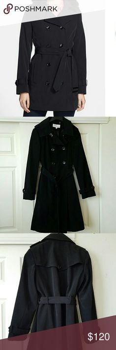 """💕Calvin Klein Double Breasted Coat💕 Beautiful Calvin Klein Double Breasted Coat. Used only a couple of times. In good condition. Approx L 39 3/4"""". No damages. Calvin Klein Jackets & Coats"""