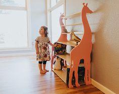 Modern Giraffe Bookshelf. Aesthetically Designed For Your Storage Needs. FREE SHIPPING