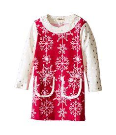 Hatley Kids Pretty Snowflakes Mod Dress (Toddler/Little Kids/Big Kids)