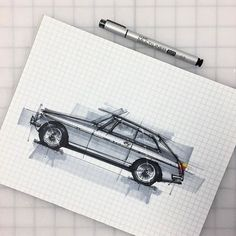 By @livedrawdie #adventuremobile #drivetastefully #sketchzone #concept #artonfire #sketch #sketching #design #designlife #gatinky #designer #drawing #sketchbook #sketchaday #cardesign #conceptcar #art #carart #carsketch #cardrawing #classiccar #mgb #mgbgt #britishcars