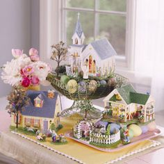 Department 56 Easter Decor