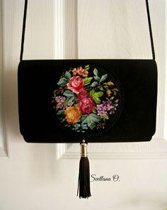 Petit point. Handbag  made  by Svetlana O.