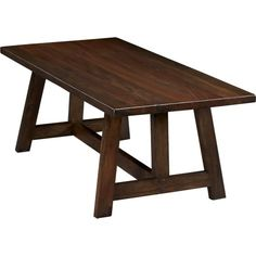 Crate and Barrel's Taverna Dining Table