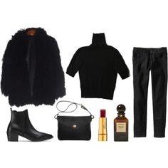 might as well be autumn by ponyboy on Polyvore featuring H&M, Old Navy, Mimi Berry, Tom Ford and Bésame
