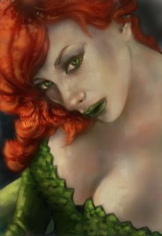 Poison Ivy 11x17 Signed Print by Barry by BarrySachsBarryGood