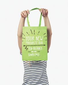 Perfect for Promotional Events, Fashion, Retail & Lifestyle Brands. Promotional Events, You Bag, Say Hello, Totes, Eco Friendly, Reusable Tote Bags, Make It Yourself, How To Make, Products