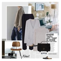 """""""OOTD/Weekend"""" by rainie-minnie ❤ liked on Polyvore featuring Acne Studios, Michael Kors, Loro Piana, Yves Saint Laurent, Proenza Schouler, Gucci and Design Within Reach"""