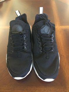 pretty nice 246b8 eb284 Nike Wmns Air Huarache Run Ultra BR 833292-004 Black White Sz 10 Supreme