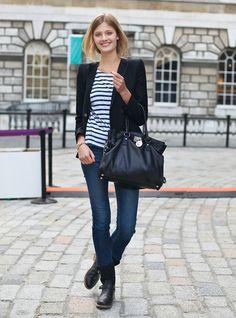 stripes fashion desi