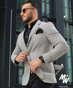 Classymen cool outfits for men, blazer outfits men, mens fashion blazer, suit fashion Blazer Outfits Men, Mens Fashion Blazer, Suit Fashion, Men Blazer, Cool Outfits For Men, Casual Wear For Men, Blazers For Men Casual, Fashionable Outfits, Terno Casual