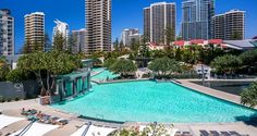 Q1 Resort and Spa Gold Coast offers guest the choice of a Four Bedroom Penthouse Apartment or Three Bedroom Spa Accommodation between levels 50 and 70. The luxury Q1 Penthouse Apartments are located within the iconic Q1 building in Hamilton Avenue, Surfers Paradise, Gold Coast.