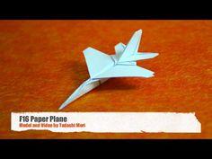 Kağıt Uçak - F-16 ve En Çok Izlenen Amatör Videolar Vidivodo'da