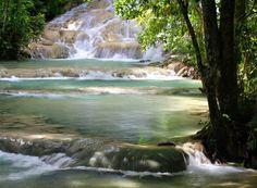 Dunn's River Falls. Shutterstock.