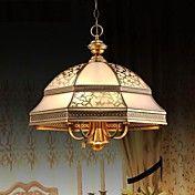 Brass Pendant Lamp, Six Lights, Vintage Total... – AUD $ 531.26