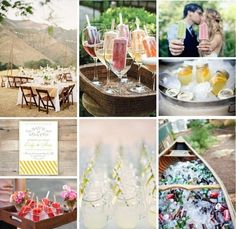 Grab A Cold One (Popsicle Or Beer), Sit Back, And Let Your Summer Wedding Be A Sweet One