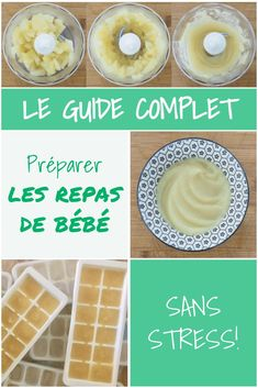 Guide complet pour les repas de bébé Prepare baby purees with ease and without stress! This comprehensive guide gives you all the information you need to start cooking (and serving baby) your homemade pots. Quilts Vintage, Baby Cooking, Baby Puree, Baby Food Jars, Natural Baby, Homemade Baby, Baby Shower, Kids Meals, Baby Meals