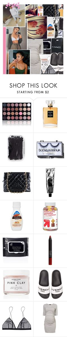 """""""we gone have a juke jam ✨"""" by k-ingpin ❤ liked on Polyvore featuring Shany, Chanel, Forever 21, Sonia Kashuk, Palmer's, NARS Cosmetics, CO, Herbivore, Givenchy and Jean Yu"""